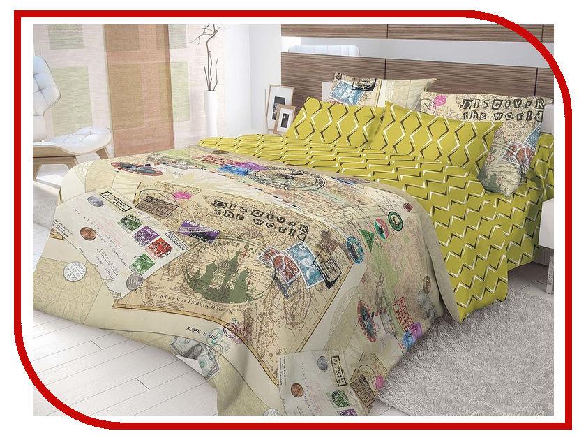 Постельное белье Волшебная ночь Лофт Travel Комплект Семейный Наволочки 70x70 Ранфорс 716294 цены онлайн