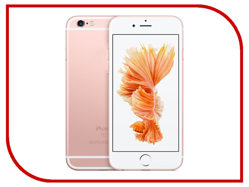 Сотовый телефон Apple iPhone 6S 64GB Rose Gold FKQR2RU/A восстановленный миллиард цветов esr apple iphone 6 6с телефон оболочки apple 6 6s мобильный телефон оболочки телефон устанавливает прозра