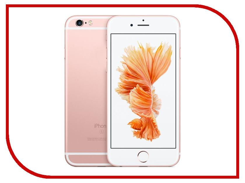 Сотовый телефон Apple iPhone 6S 64GB Rose Gold FKQR2RU/A восстановленный сотовый телефон apple iphone xs max 64gb space grey mt502ru a