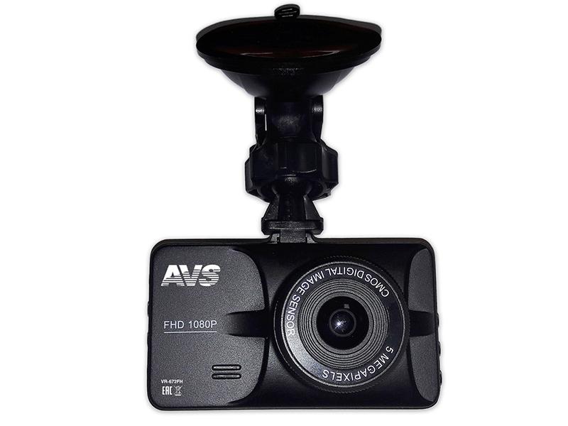 Видеорегистратор AVS VR-672FH Black