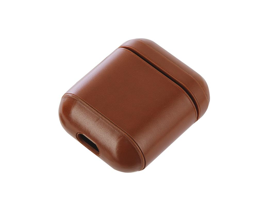 Аксессуар Чехол Gurdini Premium Leather для Airpods Light Brown 906878 аксессуар чехол twelve south pencilsnap для apple pencil brown 12 1747