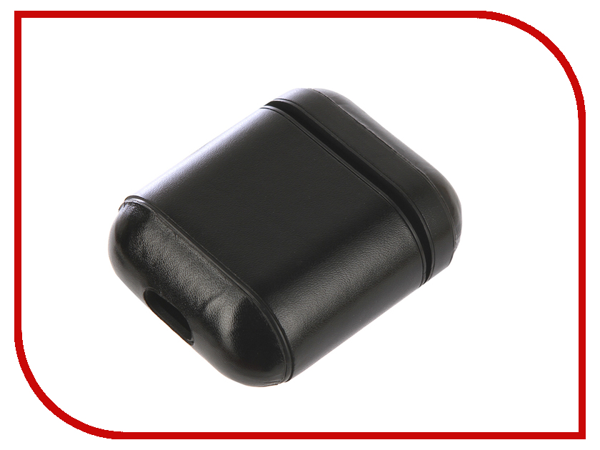 Аксессуар Чехол Gurdini Premium Leather для Airpods Black 906876 аксессуар чехол dux ducis leather для apple airpods premium black 906252