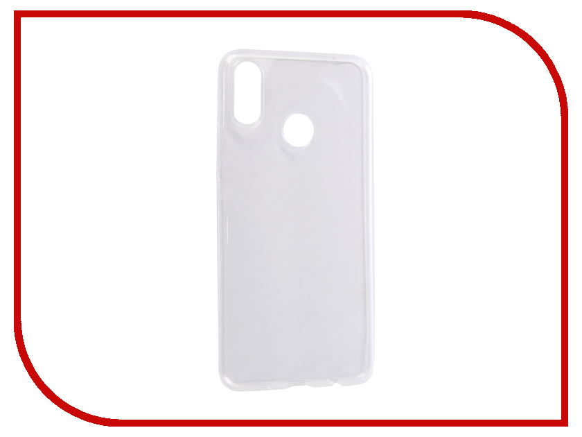 Аксессуар Чехол для Huawei Nova 3i 2018 Zibelino Ultra Thin Case Transparent ZUTC-HUA-NOV3i-WHT moskii brand ultra thin pc shield case cover for huawei mate7