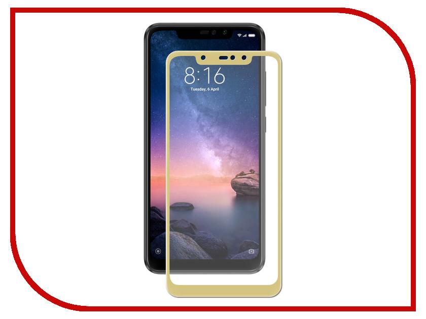Аксессуар Защитное стекло для Xiaomi Redmi Note 6 2018 Zibelino TG Full Screen Gold ZTG-FS-XMI-NOT6-GLD аксессуар защитное стекло для xiaomi redmi s2 zibelino tg full screen 0 33mm 2 5d white ztg fs xmi s2 wht