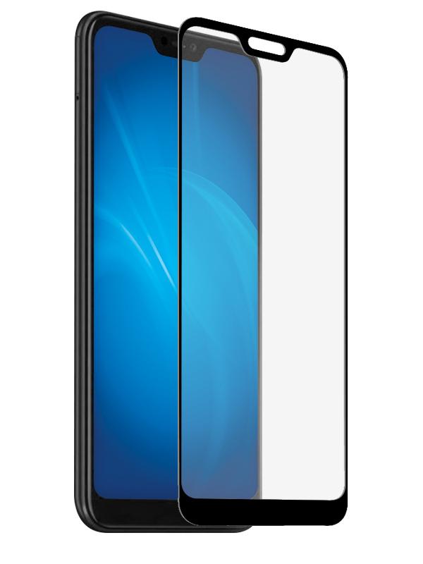 Аксессуар Защитное стекло Zibelino для Xiaomi Redmi Note 6 2018 TG Full Screen Black ZTG-FS-XMI-NOT6-BLK аксессуар защитное стекло для xiaomi redmi note 4x zibelino tg full screen white 0 33mm 2 5d ztg fs xmi not4x wht