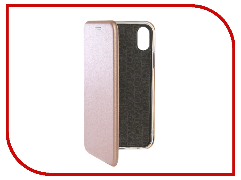 все цены на Аксессуар Чехол Zibelino Book для APPLE iPhone XS Pink Gold ZB-APL-XS-PGLD