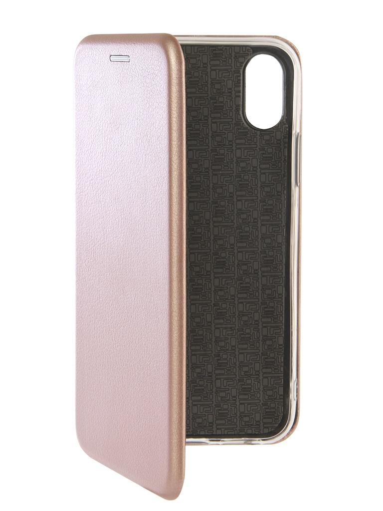цена на Чехол Zibelino для APPLE iPhone XS Book Pink Gold ZB-APL-XS-PGLD