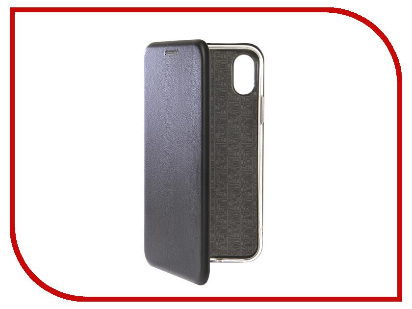 Аксессуар Чехол для APPLE iPhone XS Zibelino Book Black ZB-APL-XS-BLK аксессуар чехол zibelino ultra thin case extra для apple iphone 7 black zutce apl 7 blk