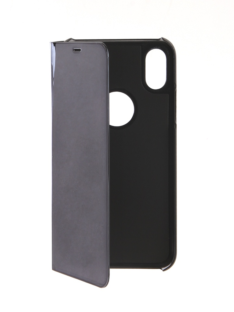 Аксессуар Чехол Zibelino для APPLE iPhone XS Clear View Black ZCV-APL-XS-BLK