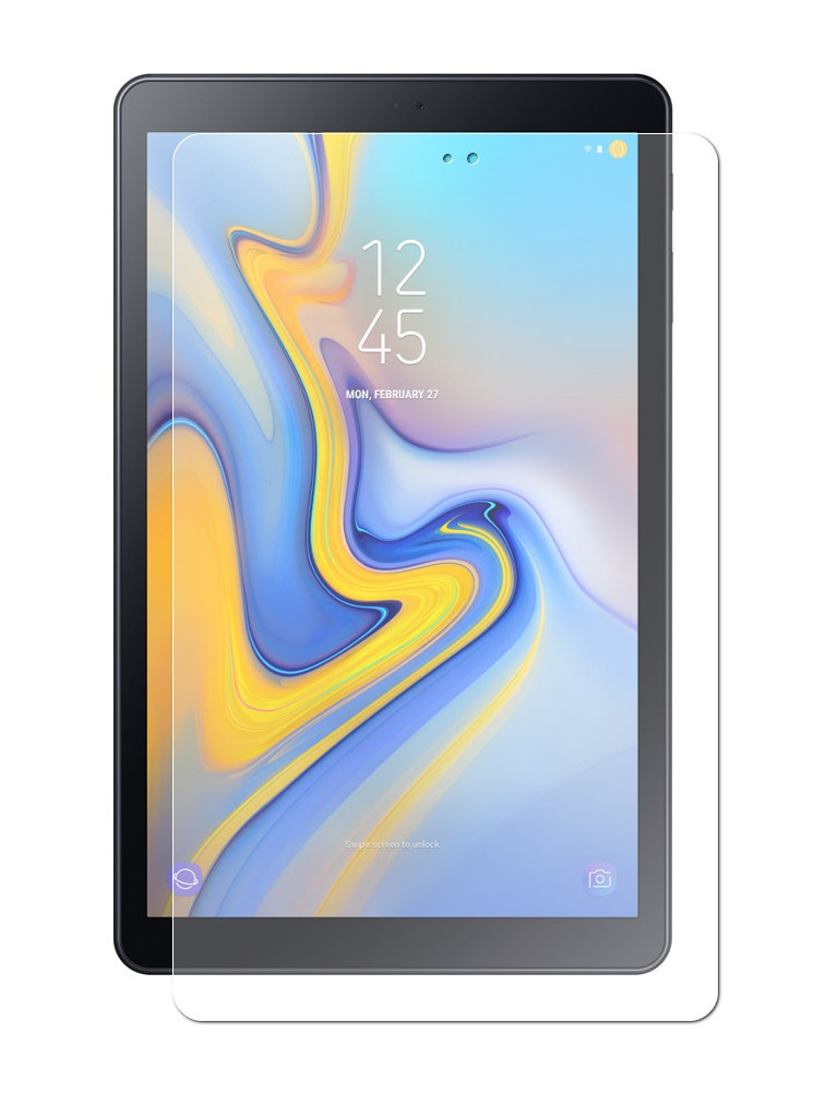Аксессуар Защитное стекло Zibelino TG для Samsung T590 Galaxy Tab A 10.5 ZTG-SAM-TAB-T590 аксессуар чехол zibelino для samsung sm t590 galaxy tab a 10 5 tablet black zt sam t590 blk