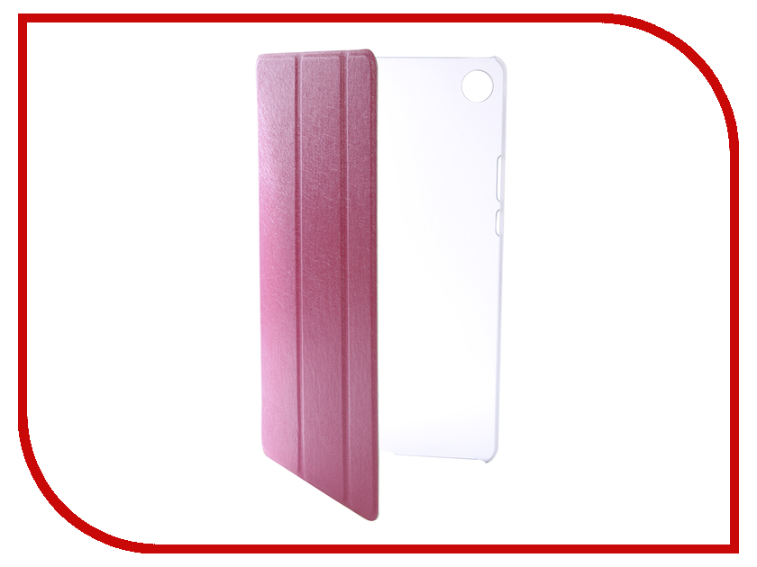 Аксессуар Чехол для Huawei MediaPad M5 8.4 Zibelino Tablet Pink ZT-HUA-M5-8.4-PNK silicon pu leather case for huawei mediapad m3 btv w09 btv dl09 8 4 inch smart sleep case cover tablet flip shell funda capa
