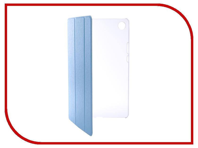 Аксессуар Чехол для Huawei MediaPad M5 8.4 Zibelino Tablet Blue ZT-HUA-M5-8.4-BLU silicon pu leather case for huawei mediapad m3 btv w09 btv dl09 8 4 inch smart sleep case cover tablet flip shell funda capa
