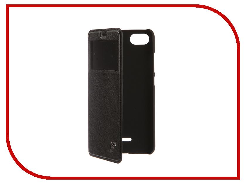 Аксессуар Чехол для Xiaomi Redmi 6A G-Case Slim Premium Black GG-972 аксессуар чехол для xiaomi redmi 5 plus g case slim premium black gg 923