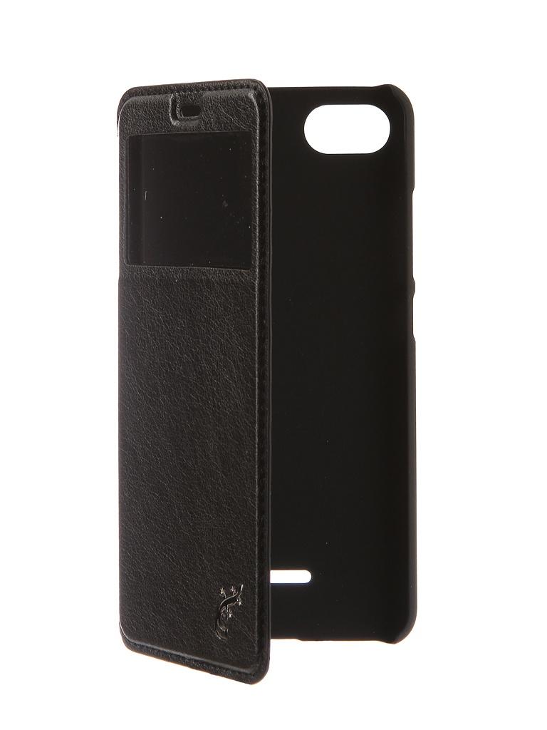 Чехол G-Case для Xiaomi Redmi 6A Slim Premium Black GG-972