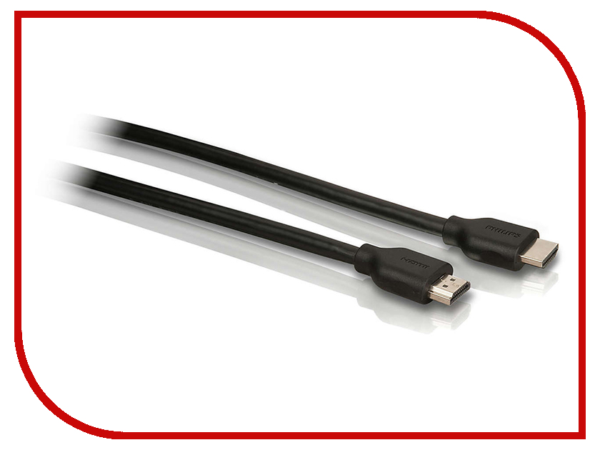 Аксессуар Philips Premium HDMI Cable w/ Ethernet 5m SWV2434W/10 1080p mini hdmi to hdmi 1 3 cable 1 5m length