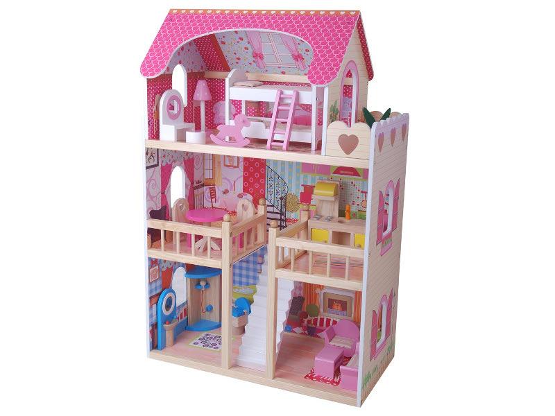 Кукольный домик Edufun Домик EF4109 с мебелью
