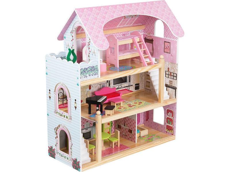 Кукольный домик Edufun с мебелью EF4110 GL000132444