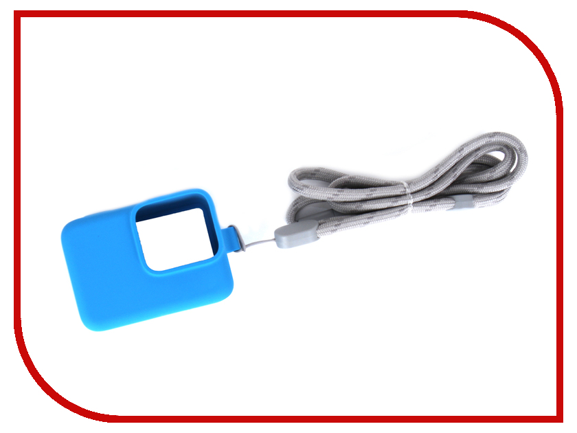 Аксессуар GoPro Hero 5/6/7 Light Blue ACSST-003 t 200l 6 fold retractable handheld monopod for gopro hero 4 1 2 3 3 blue silver