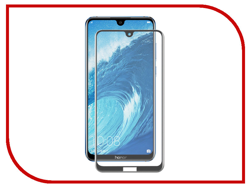 Аксессуар Защитное стекло для Huawei Honor 8X Max Svekla Full Screen Black ZS-SVHW8XMAX-FSBL аксессуар защитное стекло для huawei nova 3 svekla full screen black zs svhwnova3 fsbl