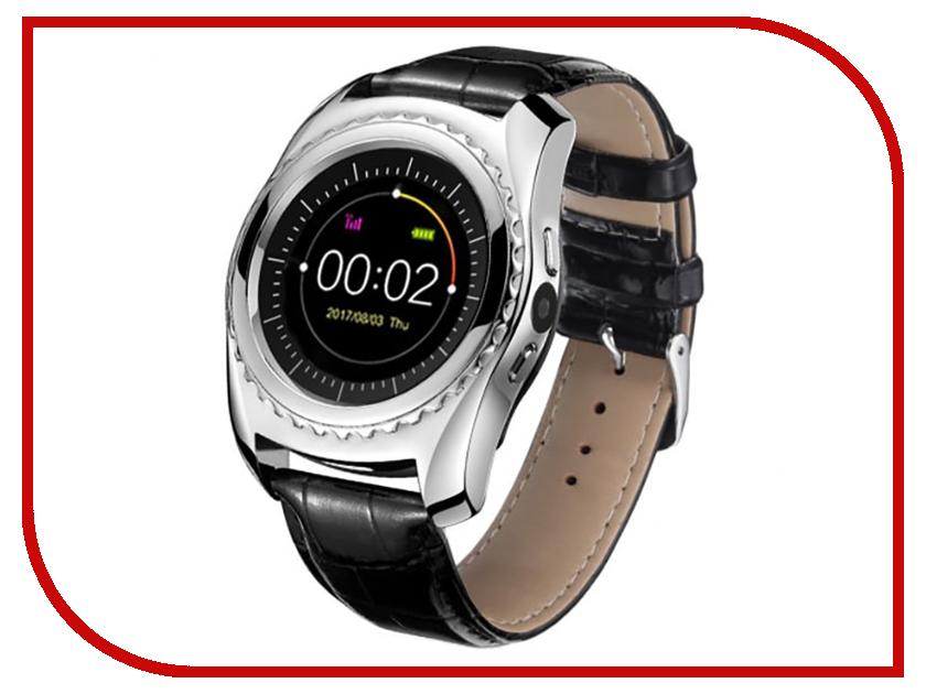лучшая цена Умные часы CARCAM TQ 920 Silver