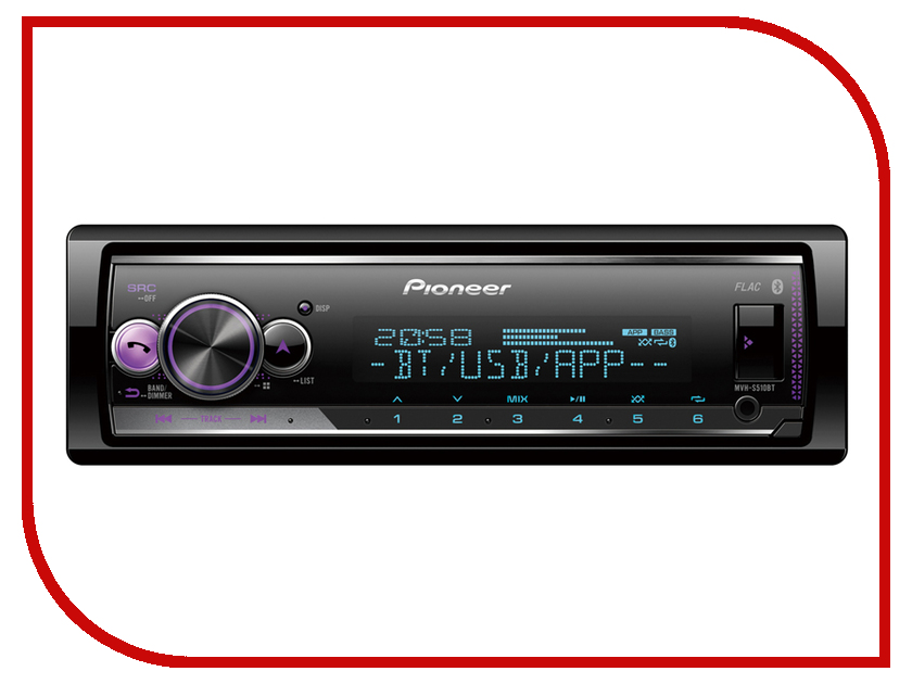 Автомагнитола Pioneer Flash MVH-S510BT