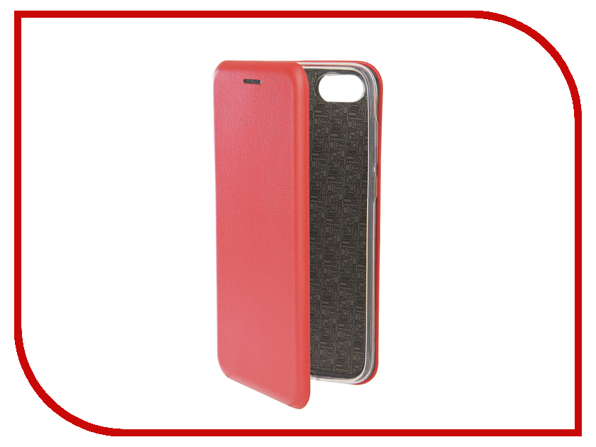 Аксессуар Чехол для Huawei 7A/Y5 Prime Innovation Book Silicone Magnetic Red 12561 аксессуар чехол книга для huawei y3 2017 innovation book silicone red 12185