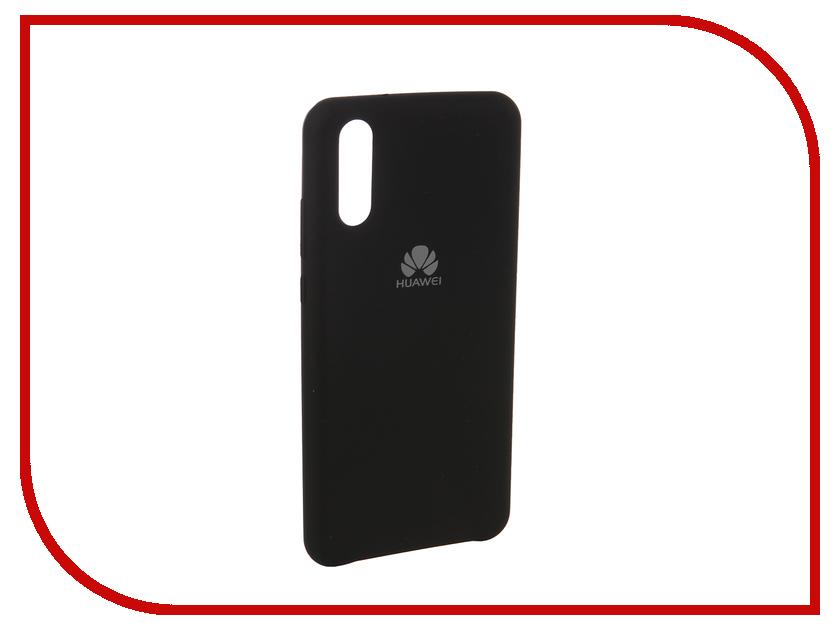 Аксессуар Чехол для Huawei P20 Innovation Silicone Black 12619 аксессуар чехол huawei p20 silicone black 51992365