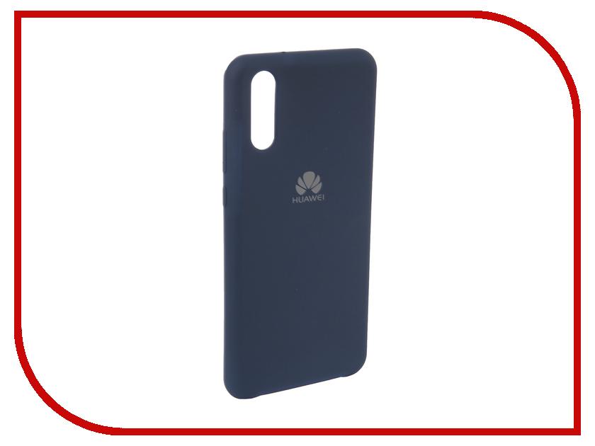 Аксессуар Чехол для Huawei P20 Innovation Silicone Blue 12620 аксессуар чехол для huawei p smart 7s innovation silicone pink 12840