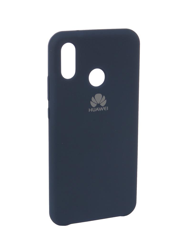 Фото - Аксессуар Чехол Innovation для Huawei P20 Lite Silicone Blue 12615 аксессуар