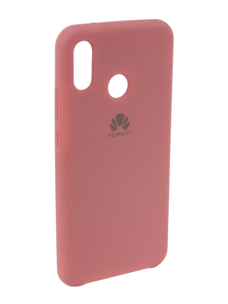 Фото - Аксессуар Чехол Innovation для Huawei P20 Lite Silicone Pink 12617 аксессуар