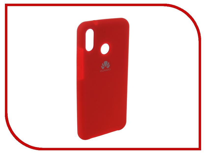 Аксессуар Чехол для Huawei P20 Lite Innovation Silicone Red 12616 аксессуар чехол для huawei p20 lite innovation silicone pink 12617