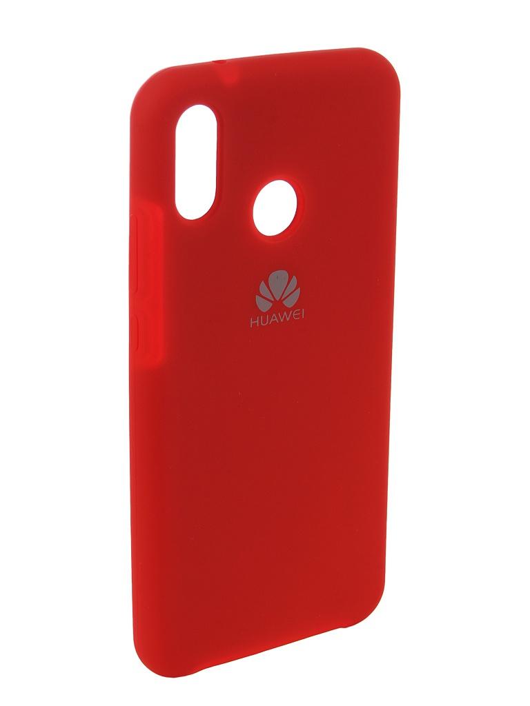 Аксессуар Чехол Innovation для Huawei P20 Lite Silicone Red 12616