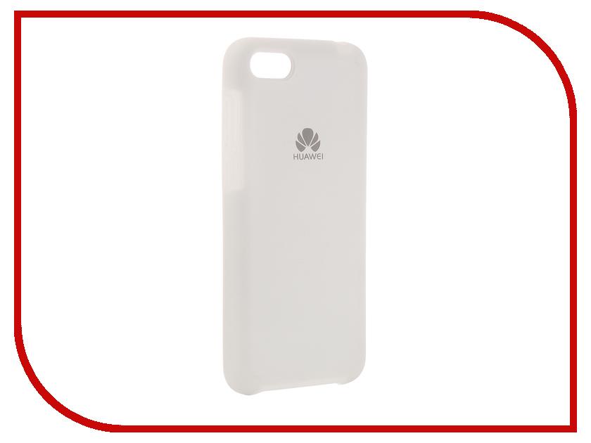 Аксессуар Чехол для Huawei 7A/Y5 Innovation Silicone White 12608