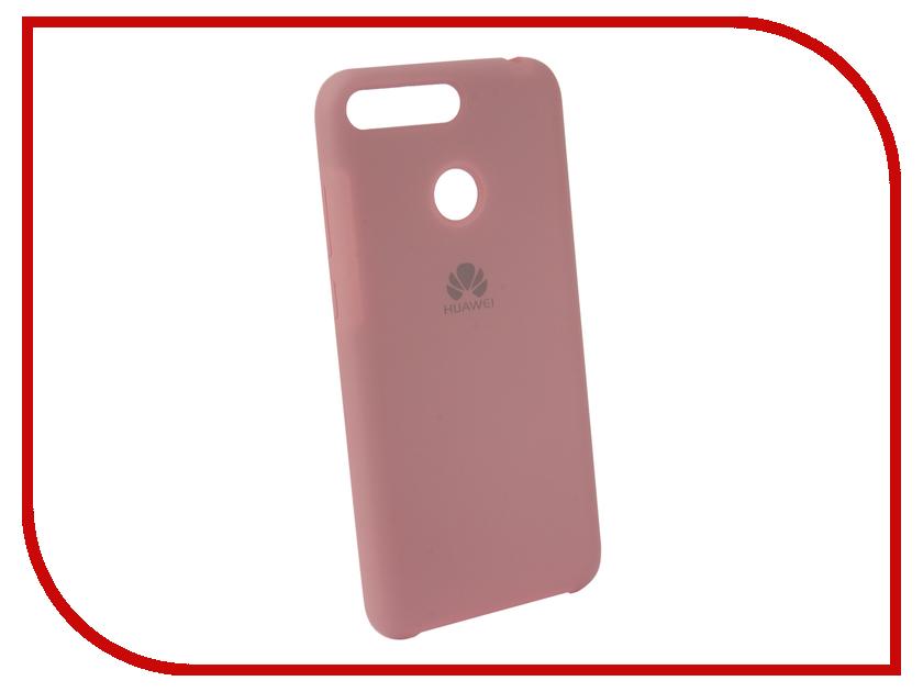 Аксессуар Чехол для Huawei 7A Pro/Y6 Prime Innovation Silicone Pink 12607 аксессуар чехол macbook pro 13 speck seethru pink spk a2729