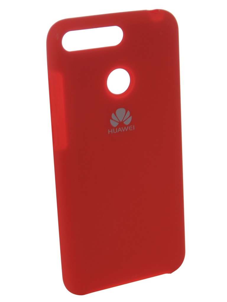 Аксессуар Чехол Innovation для Huawei 7A Pro/Y6 Prime Silicone Red 12606 аксессуар чехол innovation для huawei 7a y5 prime book silicone magnetic red 12561