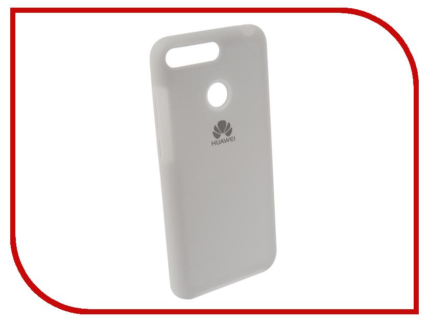 Аксессуар Чехол для Huawei 7A Pro/Y6 Prime Innovation Silicone White 12603 цена и фото