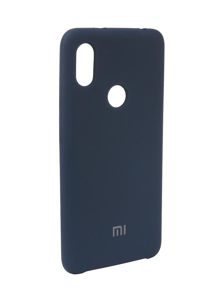Аксессуар Чехол Innovation для Xiaomi Redmi S2 Silicone Blue 12593