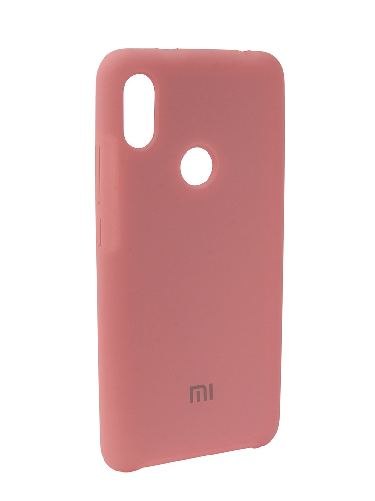 Аксессуар Чехол Innovation для Xiaomi Redmi S2 Silicone Pink 12595 аксессуар чехол для xiaomi redmi s2 innovation book silicone gold 12470