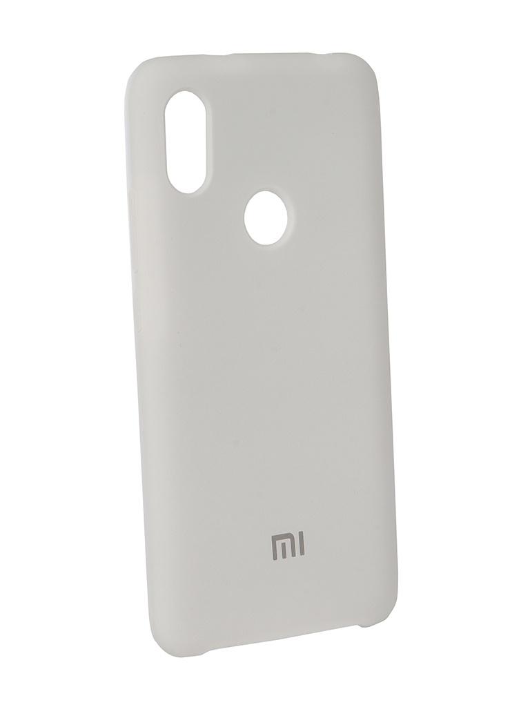 Аксессуар Чехол Innovation для Xiaomi Redmi S2 Silicone White 12591