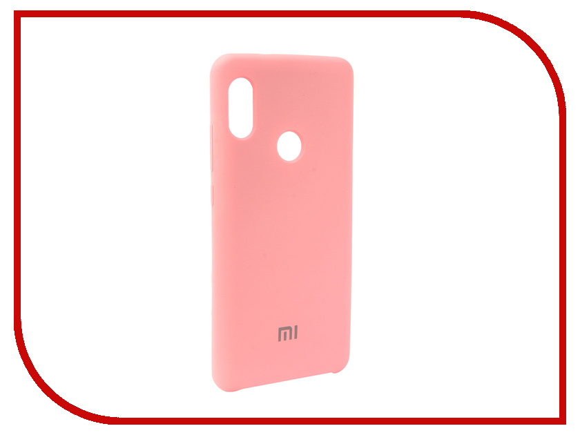 Аксессуар Чехол для Xiaomi Redmi Note 5 Pro Innovation Silicone Pink 12585 аксессуар чехол книга для xiaomi redmi 5 plus redmi note 5 innovation book silicone rose gold 11447