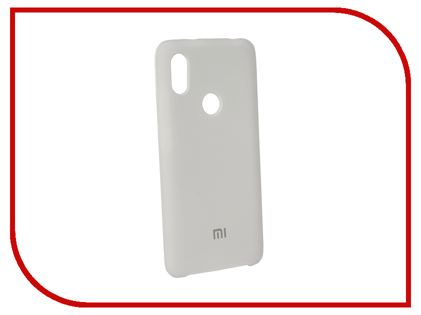 Аксессуар Чехол для Xiaomi Redmi Note 5 Pro Innovation Silicone White 12581 аксессуар чехол книга для xiaomi redmi 5 plus redmi note 5 innovation book silicone rose gold 11447