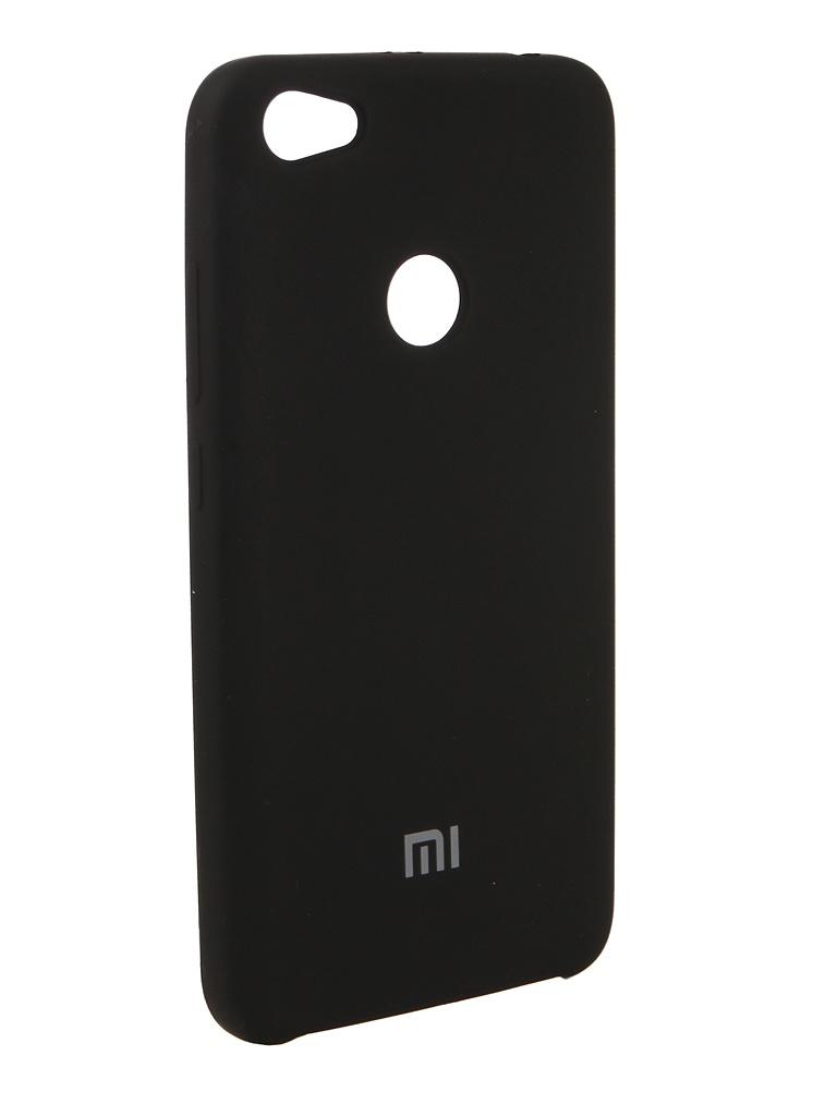 цены на Аксессуар Чехол Innovation для Xiaomi Redmi Note 5A Silicone Black 12587  в интернет-магазинах