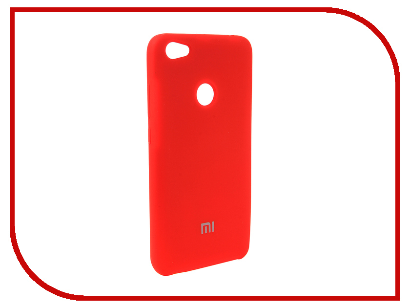 Аксессуар Чехол для Xiaomi Redmi Note 5A Innovation Silicone Red 12589 сотовый телефон xiaomi redmi note 5a prime 3gb ram 32gb grey
