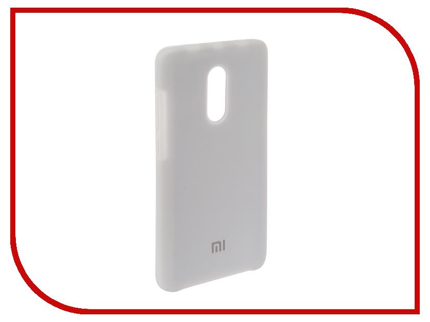 Аксессуар Чехол для Xiaomi Redmi Note 4X Innovation Silicone White 12602 цена и фото