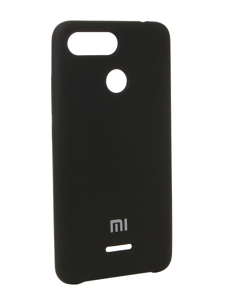 цены на Аксессуар Чехол Innovation для Xiaomi Redmi 6 Silicone Black 12572  в интернет-магазинах