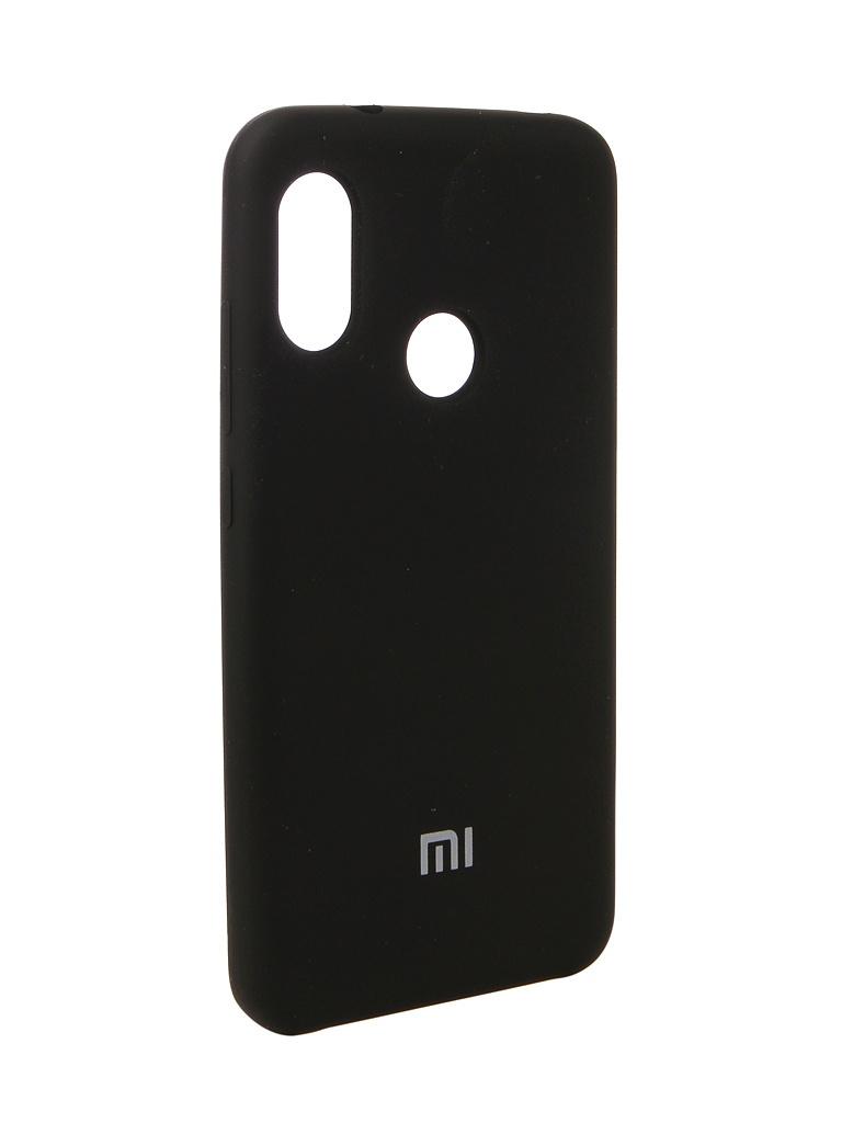 цены на Аксессуар Чехол Innovation для Xiaomi Redmi 6 Pro Silicone Black 12567  в интернет-магазинах