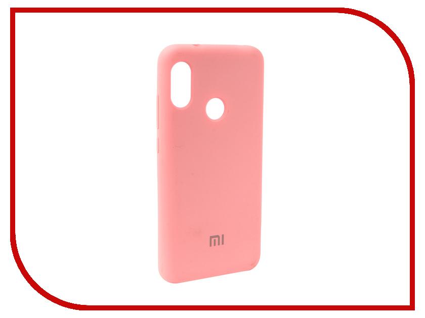 Аксессуар Чехол для Xiaomi Redmi 6 Pro Innovation Silicone Pink 12570 аксессуар чехол macbook pro 13 speck seethru pink spk a2729