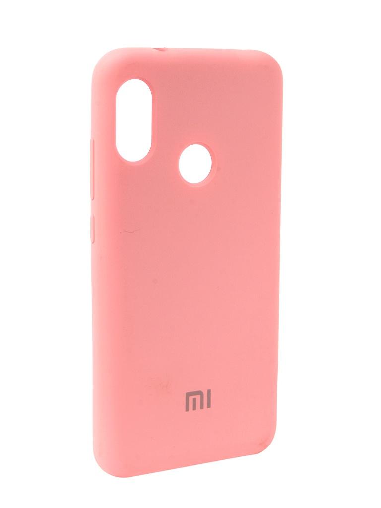 Аксессуар Чехол Innovation для Xiaomi Redmi 6 Pro Silicone Pink 12570 цены