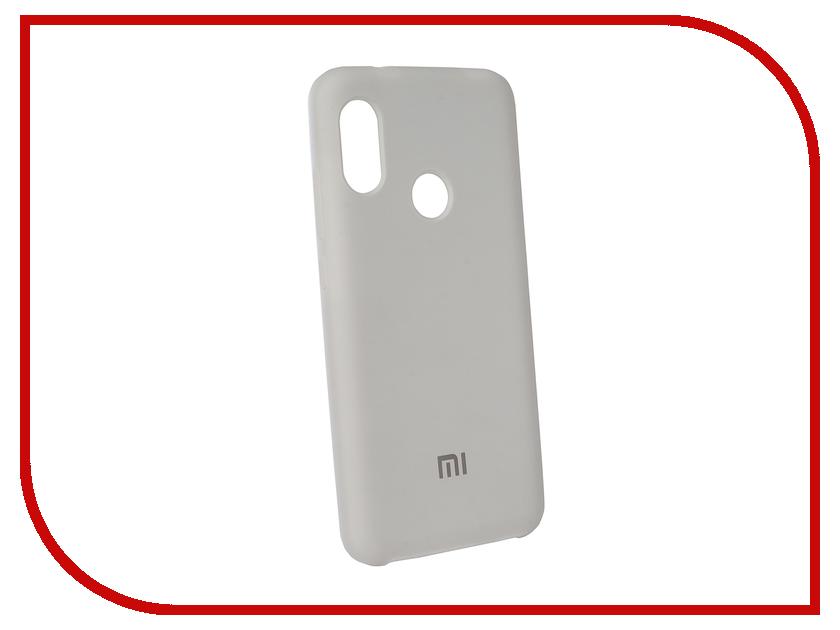 Аксессуар Чехол для Xiaomi Redmi 6 Pro Innovation Silicone White 12566 цена и фото