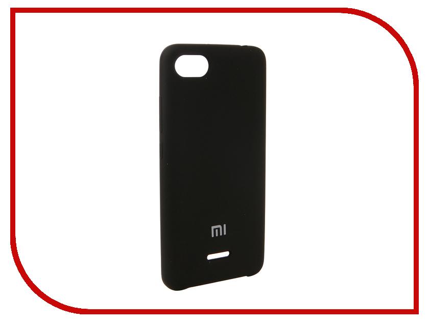 Аксессуар Чехол для Xiaomi Redmi 6A Innovation Silicone Black 12577 стул домотека омега 2 f 4 f 4